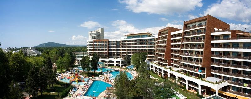 Hotel Flamingo Aussenbereich