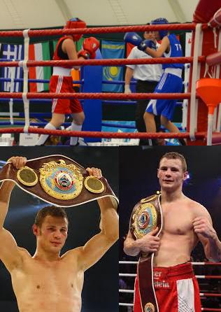 Boxweltmeister Robert Stieglitz