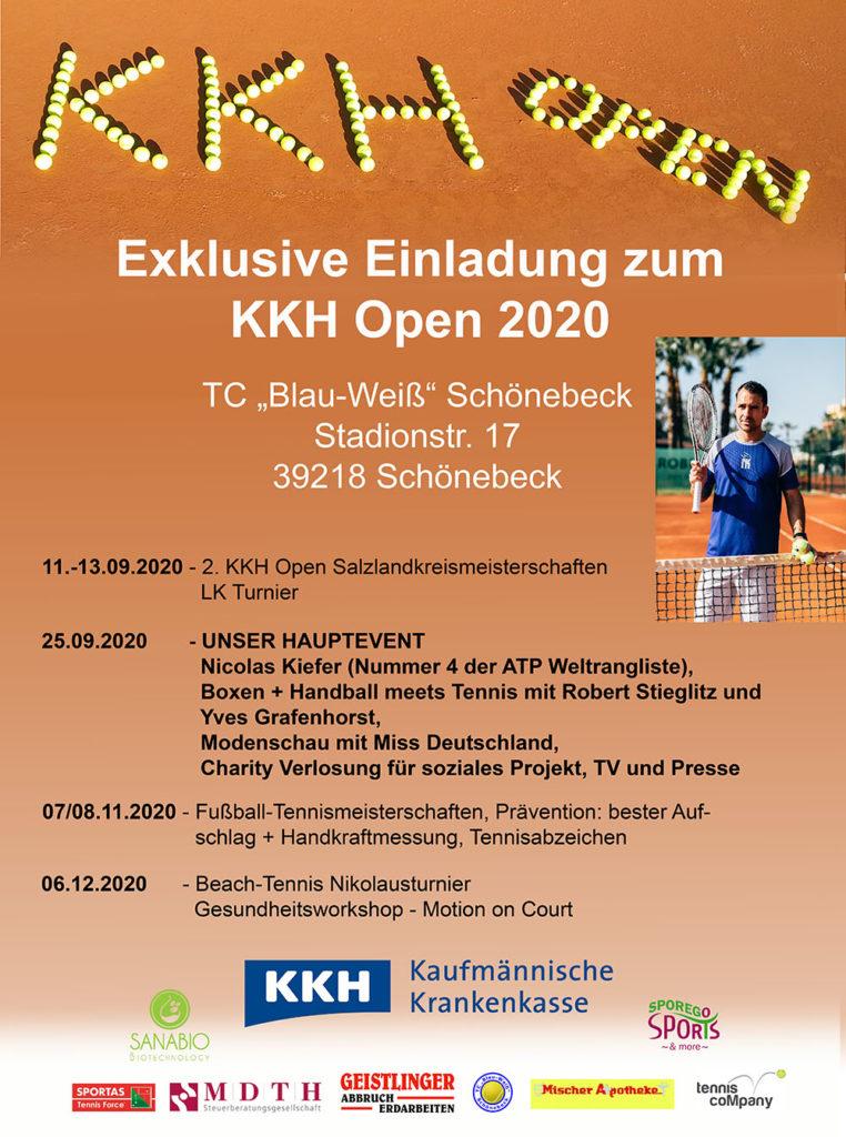 KKH open 2020 - Plakat